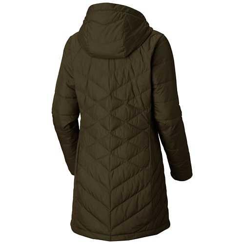 Women's Columbia Plus Heavenly Long Hooded Jacket
