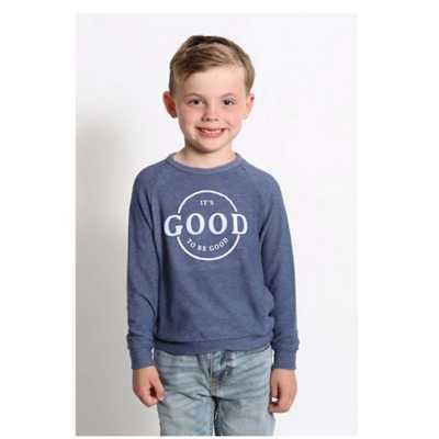 Toddler Boys' Good Hyouman Its Good To Be Good Long Sleeve Crew