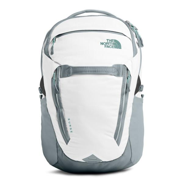 b4e47a9e43e ... Women's The North Face Surge Backpack Tap to Zoom; TNF Black Heather/Burnt  Coral Metallic Tap to Zoom; White/Heather/Grey