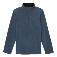 Toddler Boys' French Toast  Long Sleeve Solid Microfleece 1/4 Zip
