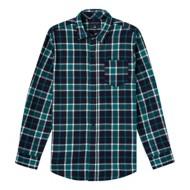 Grade School Boys' French Toast  Long Sleeve Flannel Shirt