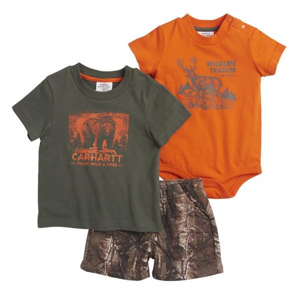 27bd15b9f Infant Boy's Camo 3-Pc Short Set | SCHEELS.com