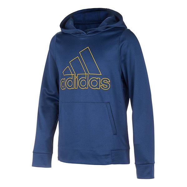 hot product detailing new style Grade School Boys' adidas Printed Logo Hoodie