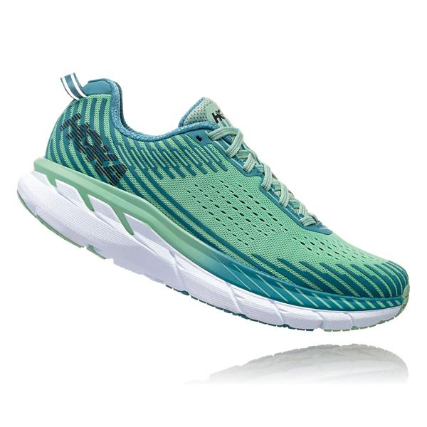 e819041873d1c ... Women s HOKA ONE ONE Clifton 5 Running Shoes Tap to Zoom  Black White  Tap to Zoom  Lichen Storm Blue