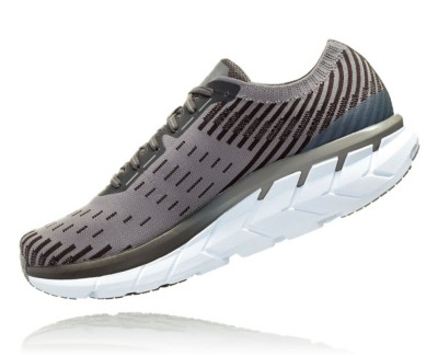 Men's Hoka One One Clifton 5 Knit Running Shoes