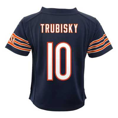 Infant Nike Chicago Bears Mitchell Trubisky Game Jersey