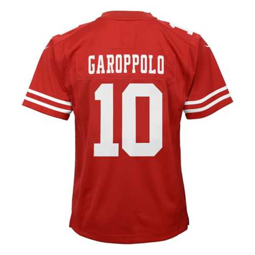 Kids' Nike San Francisco 49ers Jimmy Garoppolo Game Jersey