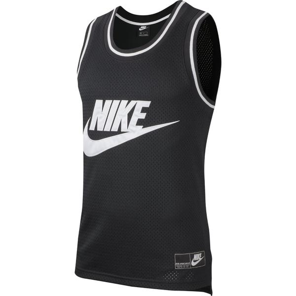 e291397f ... Men's Nike Sportswear Mesh Jersey Tank Tap to Zoom; Black/White