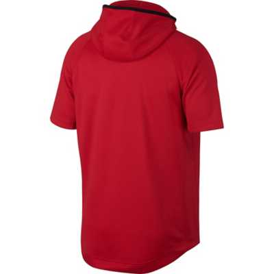 Men's Nike Spotlight Short Sleeve Basketball Hoodie