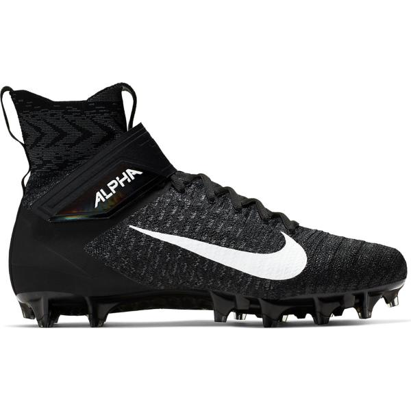 4ab44b56bcfe ... Men's Nike Alpha Menace Elite 2 Football Cleats Tap to Zoom;  Black/White-Dark Grey
