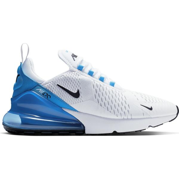 new style d0f75 2cfc2 Tap to Zoom  White Black-Photo Blue-Pure Platinum Tap to Zoom  Men s Nike  Air Max 270 Running Shoes