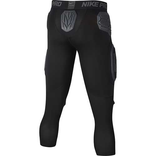Men's Nike Pro HyperStrong Padded 3/4 Football Tights