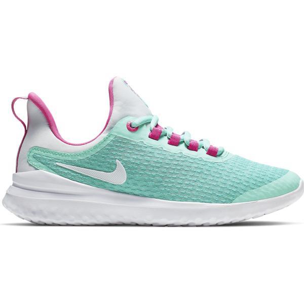 size 40 7bb2b 5afe8 Grade School Girls' Nike Renew Rival Aqua Running Shoes