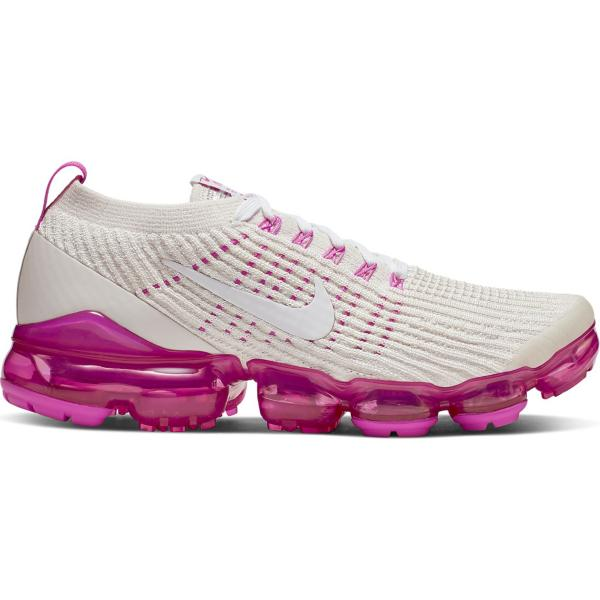 642225665d6 Tap to Zoom  Phantom White-Laser Fuchsia-Pink Rise Tap to Zoom  Women s  Nike Air VaporMax Flyknit 3 Running Shoes