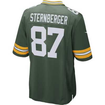 Men's Nike Green Bay Packers Jace Sternberger Game Jersey