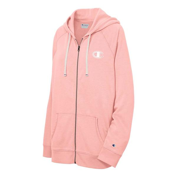 5972fc36886 Women's Champion Plus Size Heritage French Terry Zip Hoodie ...