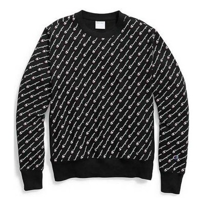 Men's Champion Reverse Weave Crew Logo Sweatshirt