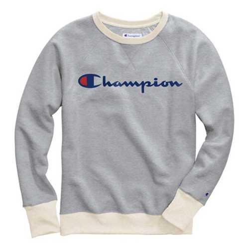 Women's Champion Plus Size Powerblend Boyfriend Crew Sweatshirt