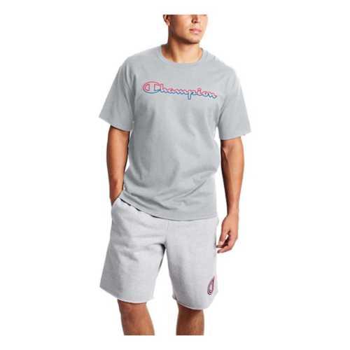Men's Champion Classic Jersey Script Logo T-Shirt