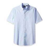 Men's Dockers Short Sleeve Comfort Stretch Button Up T-Shirt