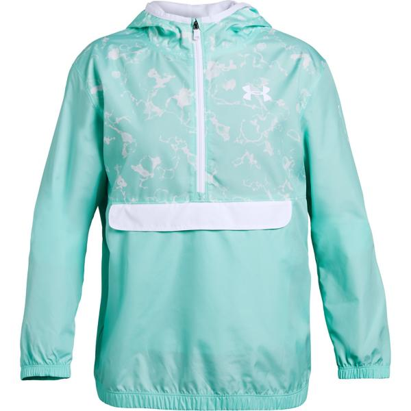 758a656be ... Youth Girls' Under Armour Packable 1/2 Zip Jacket Tap to Zoom; Neo  Turquoise