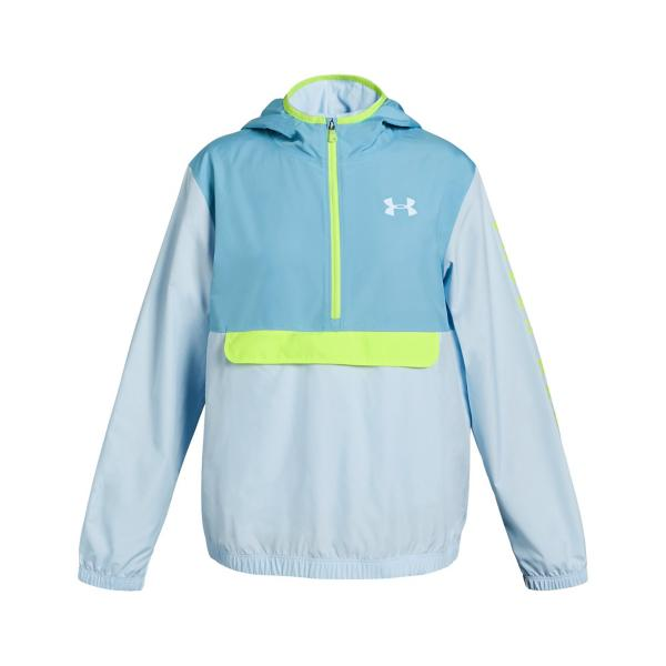 989aa4975 Tap to Zoom; Youth Girls' Under Armour Packable 1/2 Zip Jacket Tap to Zoom;  Youth Girls' ...