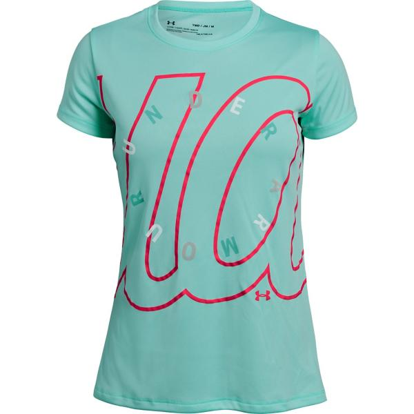 97cd8410 Youth Girls' Under Armour Branded Dial T-Shirt | SCHEELS.com