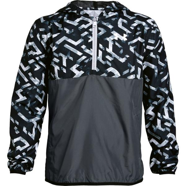 91557b4a3 ... Youth Boys' Under Armour Packable 1/2 Zip Jacket Tap to Zoom; Black