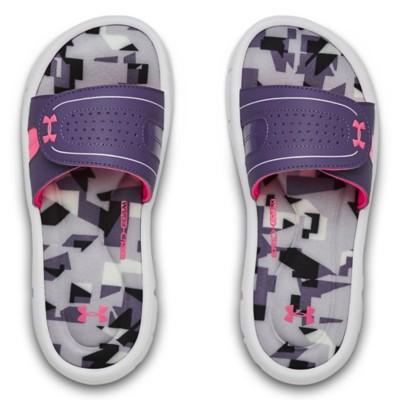 Grade School Girls' Under Armour Ignite Jagger VIII Sandals