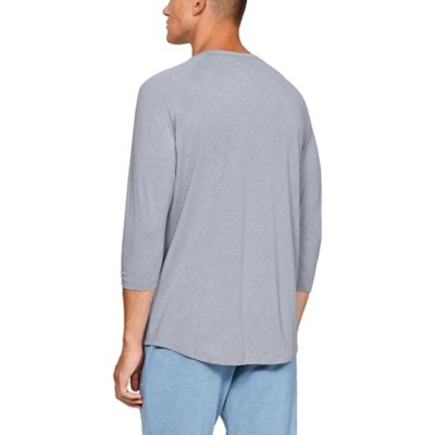 dd3a573b4b1 Tap to Zoom  Men s Under Armour Recovery Sleepwear Henley 3 4 Sleeve Shirt