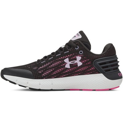Grade School Girls' Under Armour Charged Rogue Running Shoes