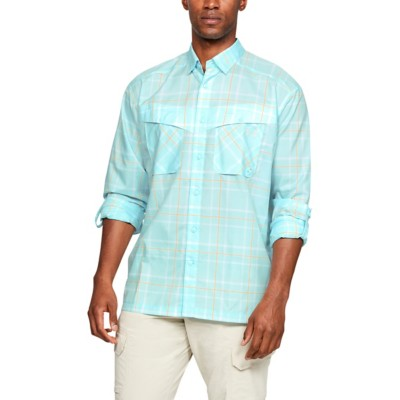 Men's Under Armour Tide Chaser Plaid Long Sleeve Shirt