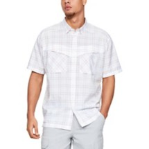 Men's Under Armour Tide Chaser Plaid Short Sleeve Shirt