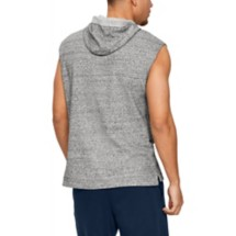 Men's Under Armour Project Rock Terry Sleeveless Hoodie