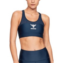 Women's Under Armour Project Rock Sports Bra