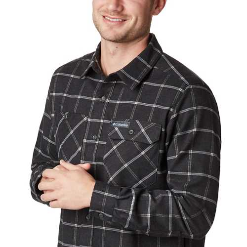 Men's Columbia Outdoor Elements Stretch Flannel Shirt