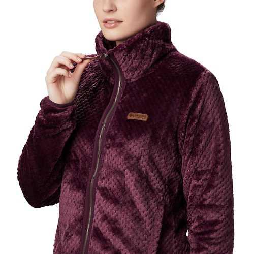 Women's Columbia Plus Size Fire Side II Sherpa Full Zip Jacket