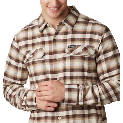 Men's Columbia Flare Gun Stretch Flannel Shirt