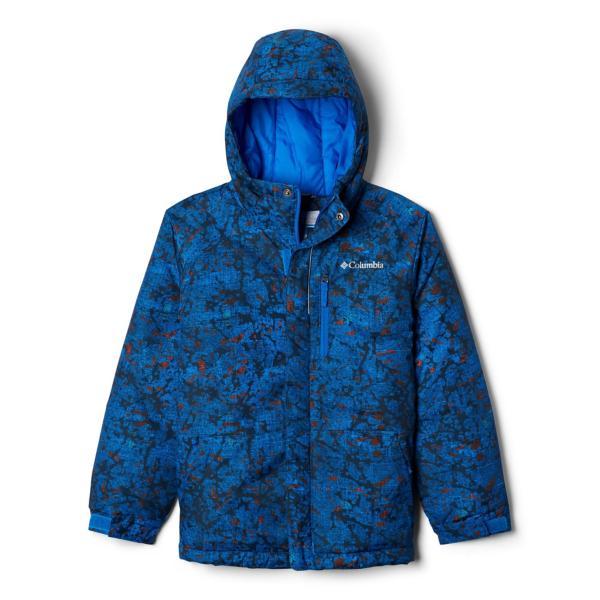 Super Blue Crackle Splatter
