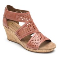 Women's Cobb Hill Janna Caged Wedge Sandals