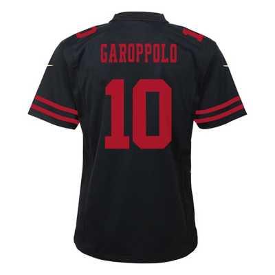 Kids' Nike San Francisco 49ers Jimmy Garoppolo Color Rush Game Jersey