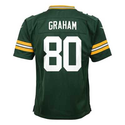 Kids' Nike Green Bay Packers Jimmy Graham Game Jersey