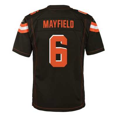Kids' Nike Cleveland Browns Baker Mayfield Game Jersey
