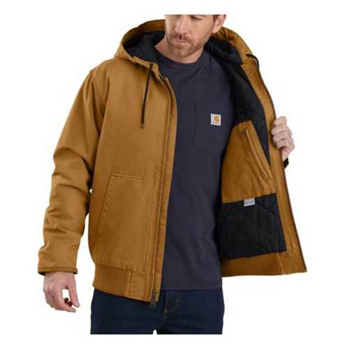 Men's Carhartt Washed Duck Insulated Active Jacket