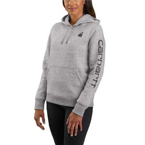 Women's Carhartt Clarksburg Graphic Sleeve Pullover Sweatshirt
