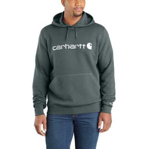 Men's Carhartt Force Delmont Signature Graphic Hoodie