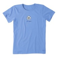 Women's Life is Good LIG Daisy Vintage Crusher T-Shirt