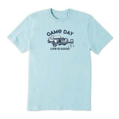 Men's Life is Good Game Day Crusher T-Shirt