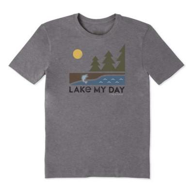 Men's Life is Good Lake My Day Cool T-Shirt
