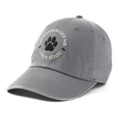 Women's Life Is Good My Dog Rescued Me Chill Cap